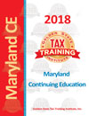 Maryland Continuing Education for Tax Preparers Front Cover