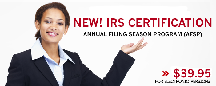 IRS Annual Filing Season Program (AFSP)