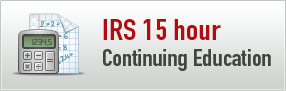 15 Hour IRS Continuing Education Course